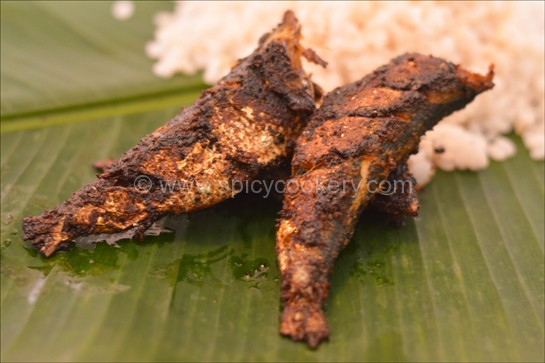 Spicy Kerala Mathi Fry is Ready