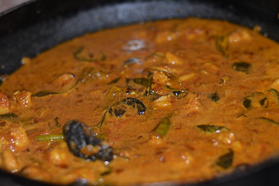 Malabar Prawns Curry is Ready
